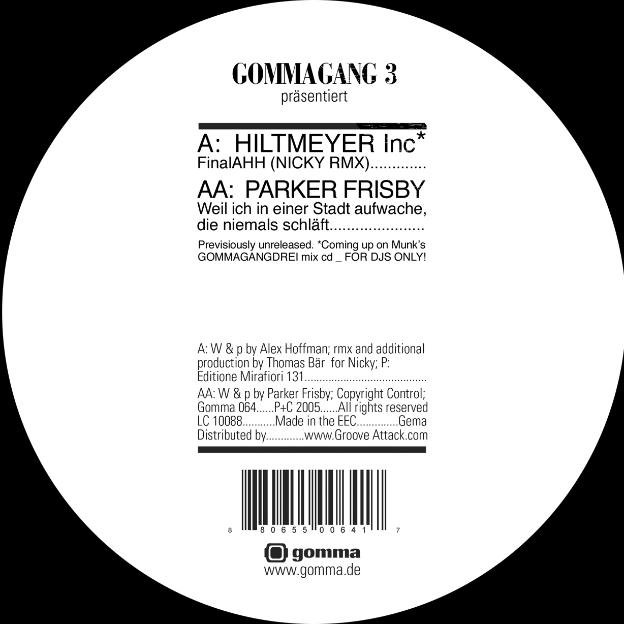Parker Frisby - Hiltmeyer Inc Gommagang 3