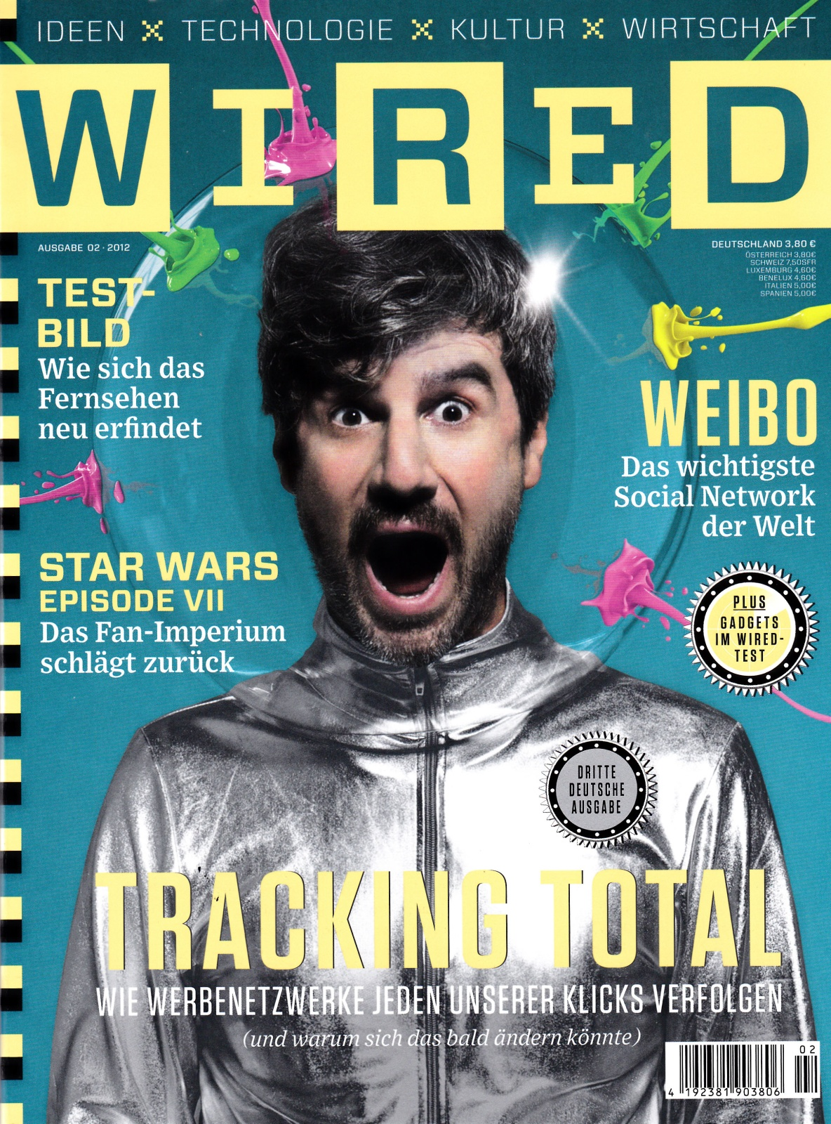 Wired Magazine Covers | Gomma Wired Magazine Puts Munk Telonius On Cover